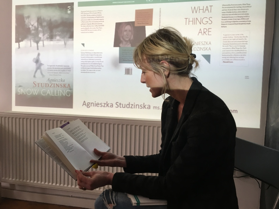 Agneszskia Studinska Reading _Writers House_Essex Book Festival